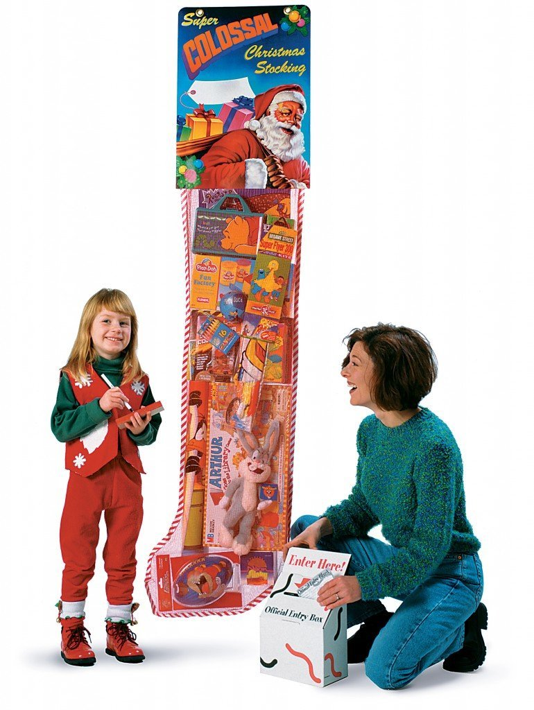Giant Christmas Stocking / Retail Promotion