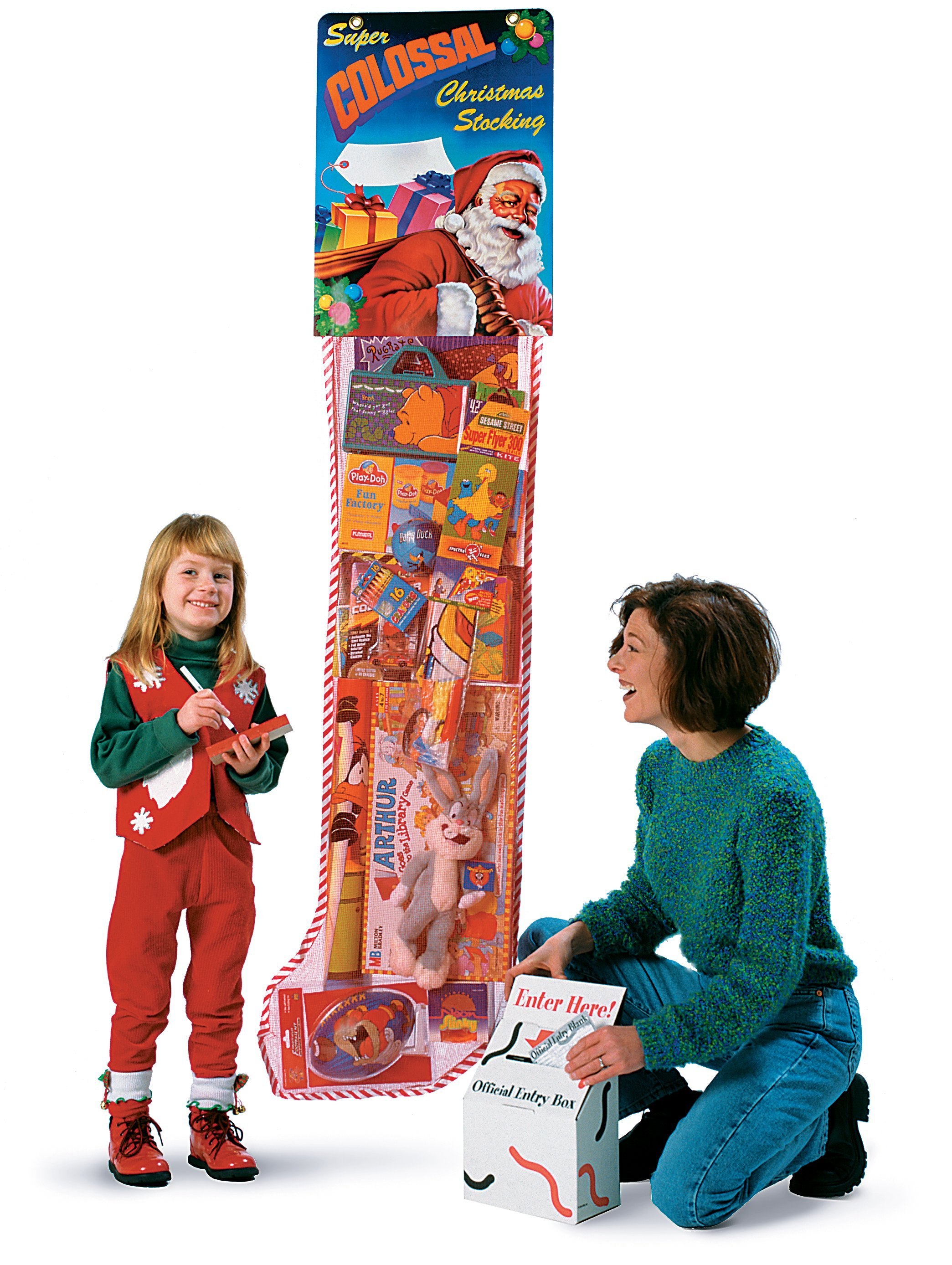 Giant Christmas Stocking  Advertising Premium