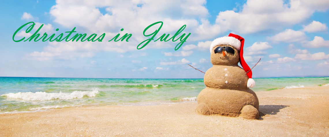 Christmas in July - Retail Advertising Promotion