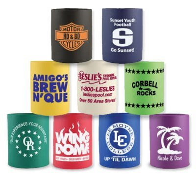 Imprinted Can Holders