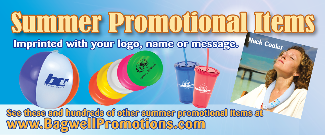 Summer Promotional Items Bagwell Promotions