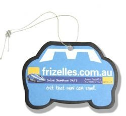 automobile promotional air freshener