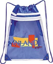 drawstring imprinted promotional backpack