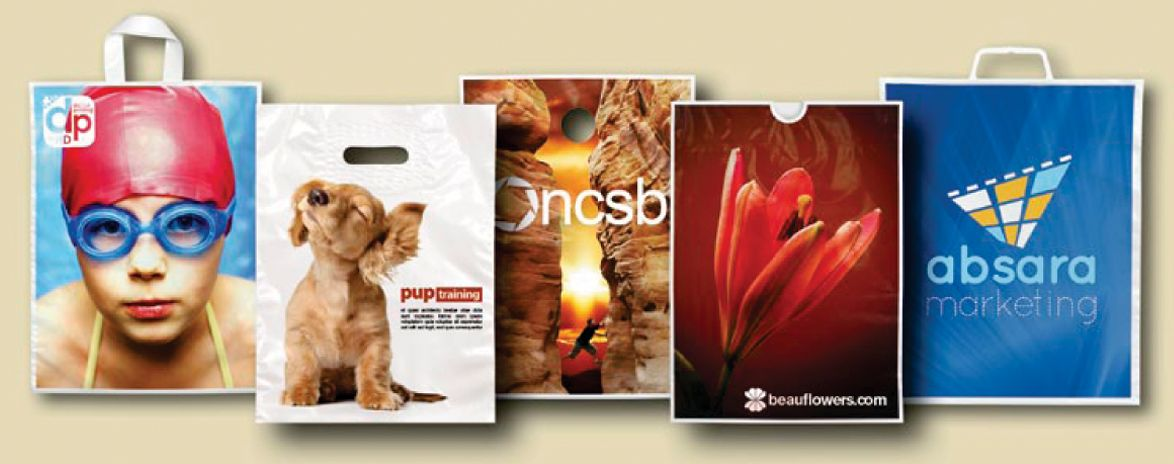 full color promotional bags