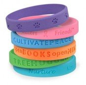 debossed bracelets