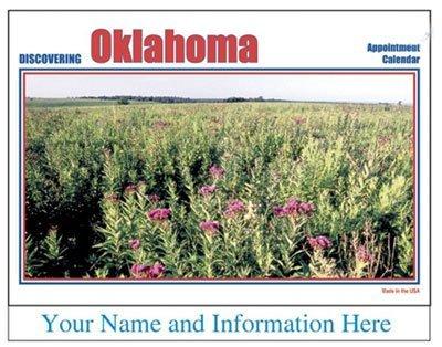 oklahoma imprinted 50 state calendars