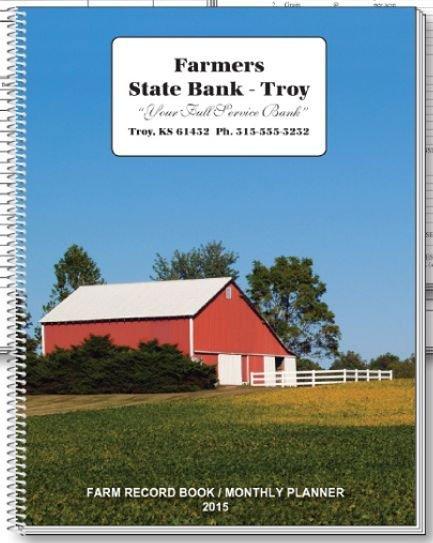 farm record book calendar