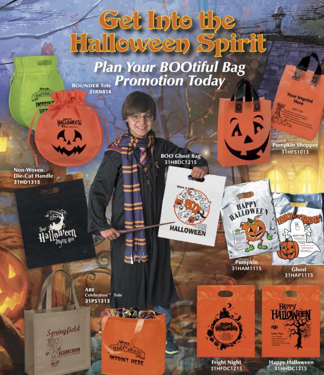 Imprinted Halloween Bags