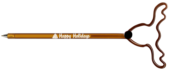 holiday shaped ink pen