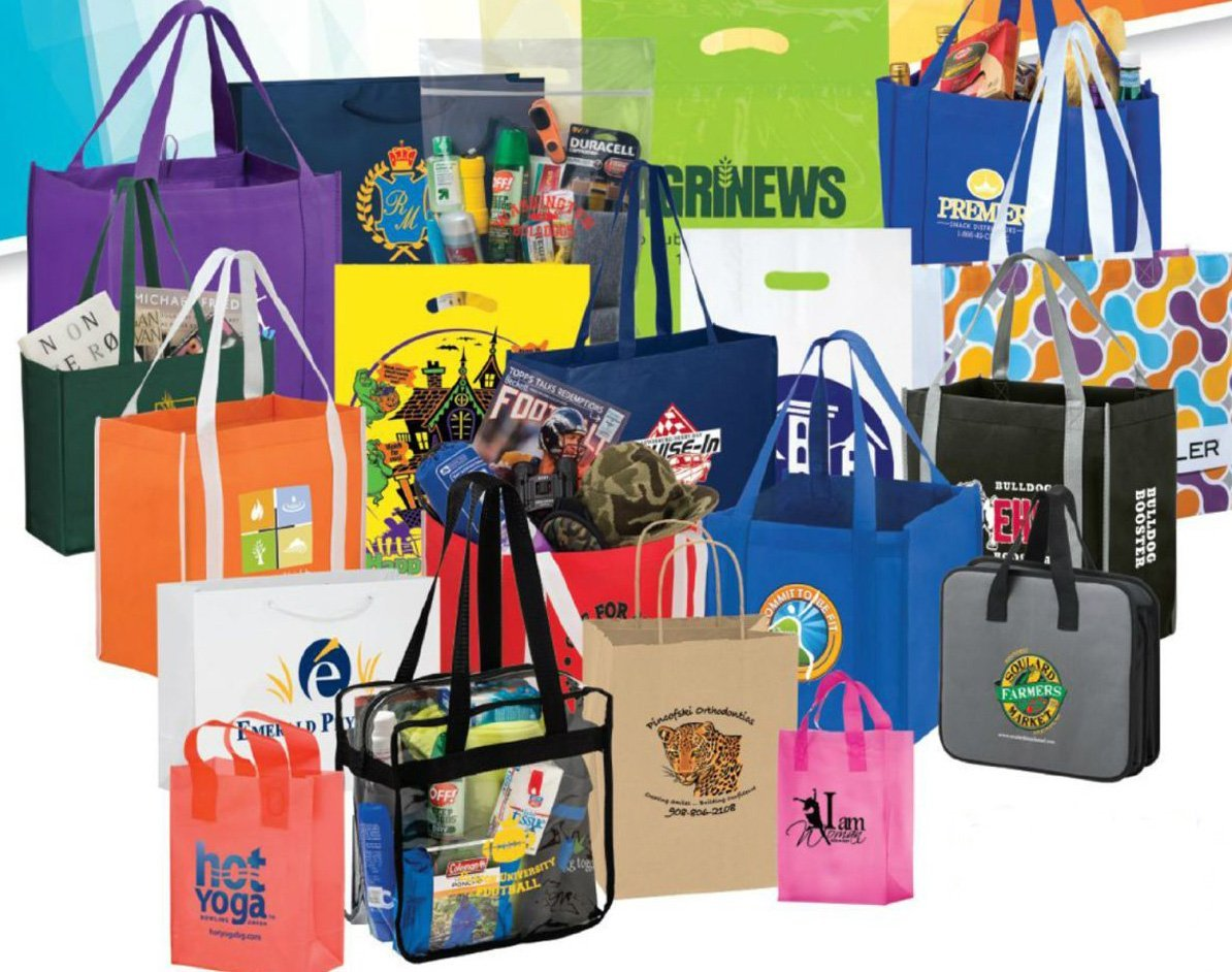 imprinted promotional bags
