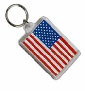usa key tag patroitic promotional product