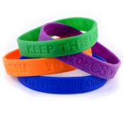 promotional bracelets silicone bracelets popular