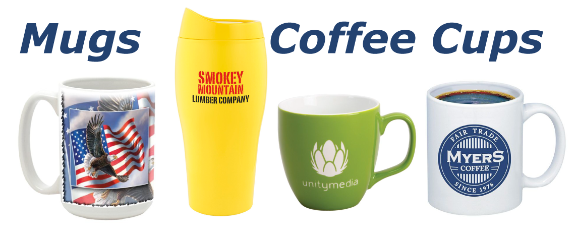 imprinted mugs and coffee cups