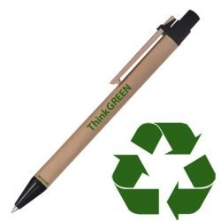 recycled paper ink pen