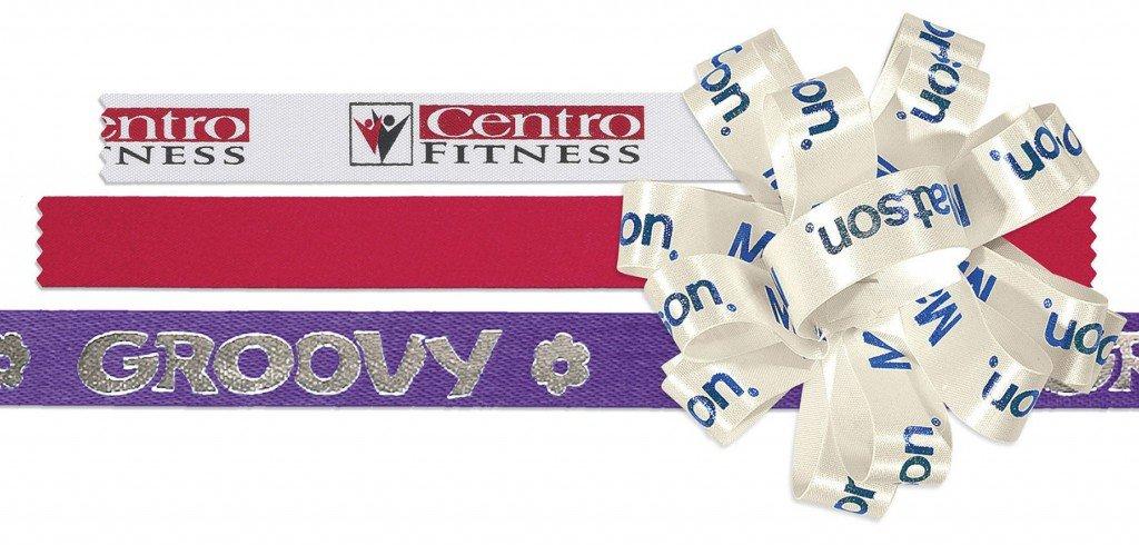 custom printed ribbons and bows
