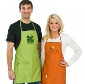 imprinted aprons