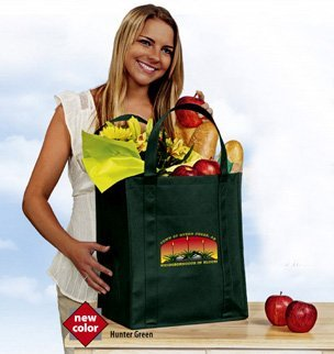 big thunder grocery bag in full color