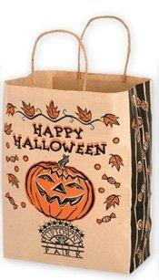 paper halloween bag