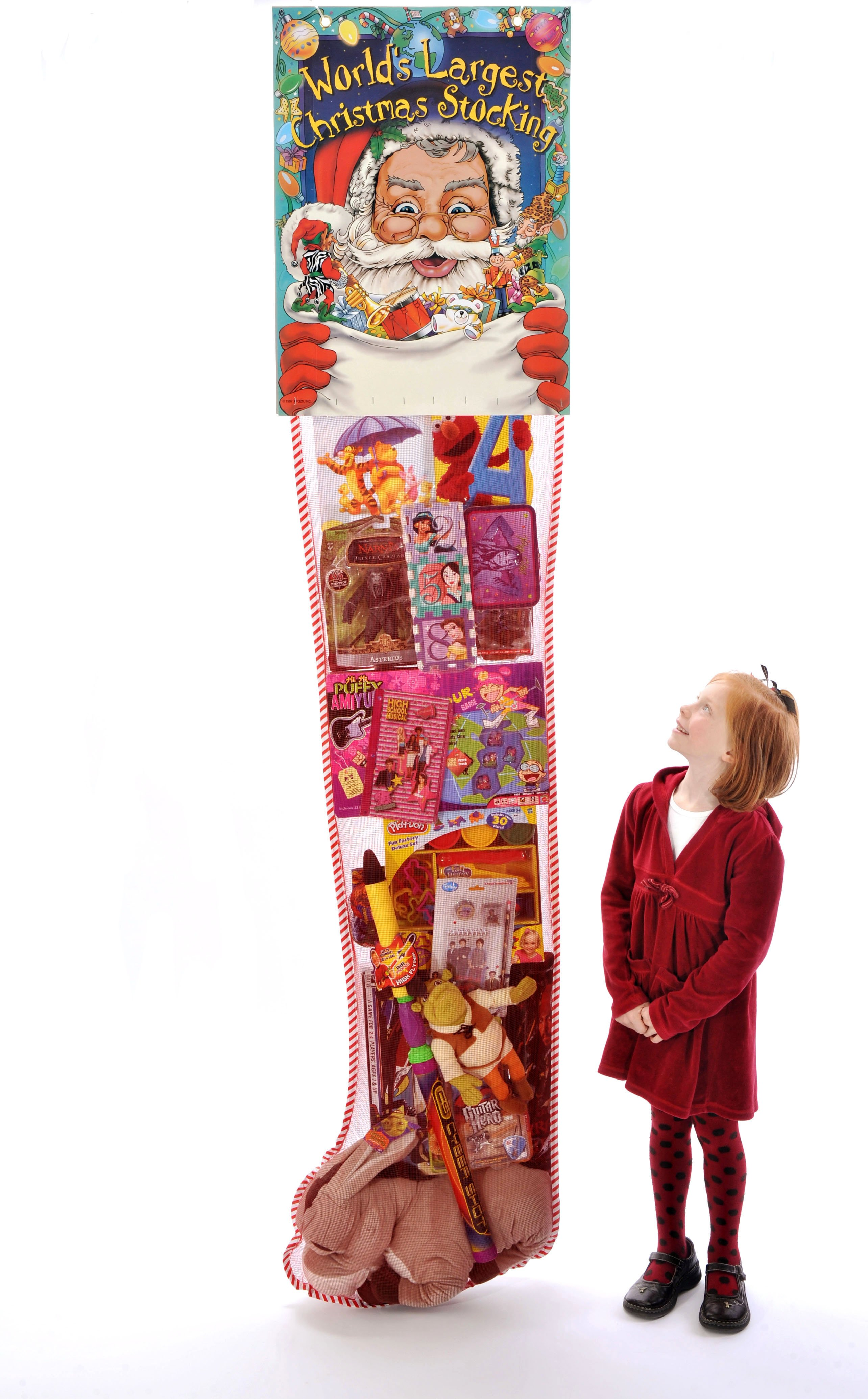 8 foot Giant Christmas Stocking