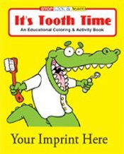 Tooth Time Coloring Book