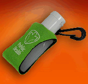 Sanitizer Lotion in a Clip