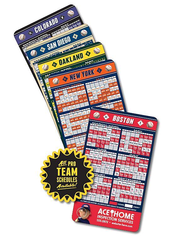 sports team schedules