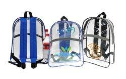 clear school backpacks
