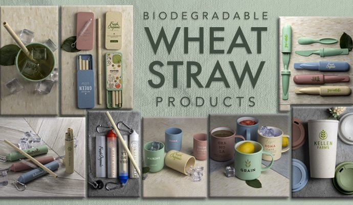 Wheat Straw Promotional Products