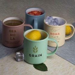 18 oz wheat straw mug