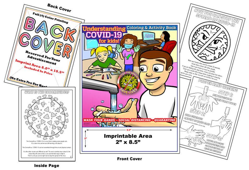 COVID-19 Coronavirus Coloring Book