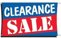 Stock Clearance Sale Banner