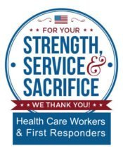 Healthcare Professionals and First Responders Appreciation