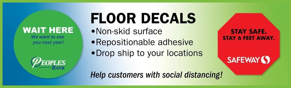 Removable Floor Decals
