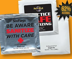 Anti-Bcterial Hand Anti-Bacterial Hand Sanitizer Gel Packets