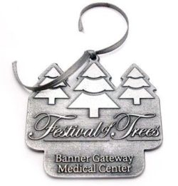 Custom Pewter Ornaments