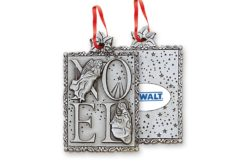 Stock Pewter Ornament