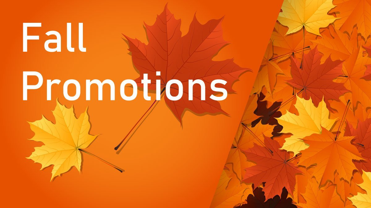 Fall Promotions Header