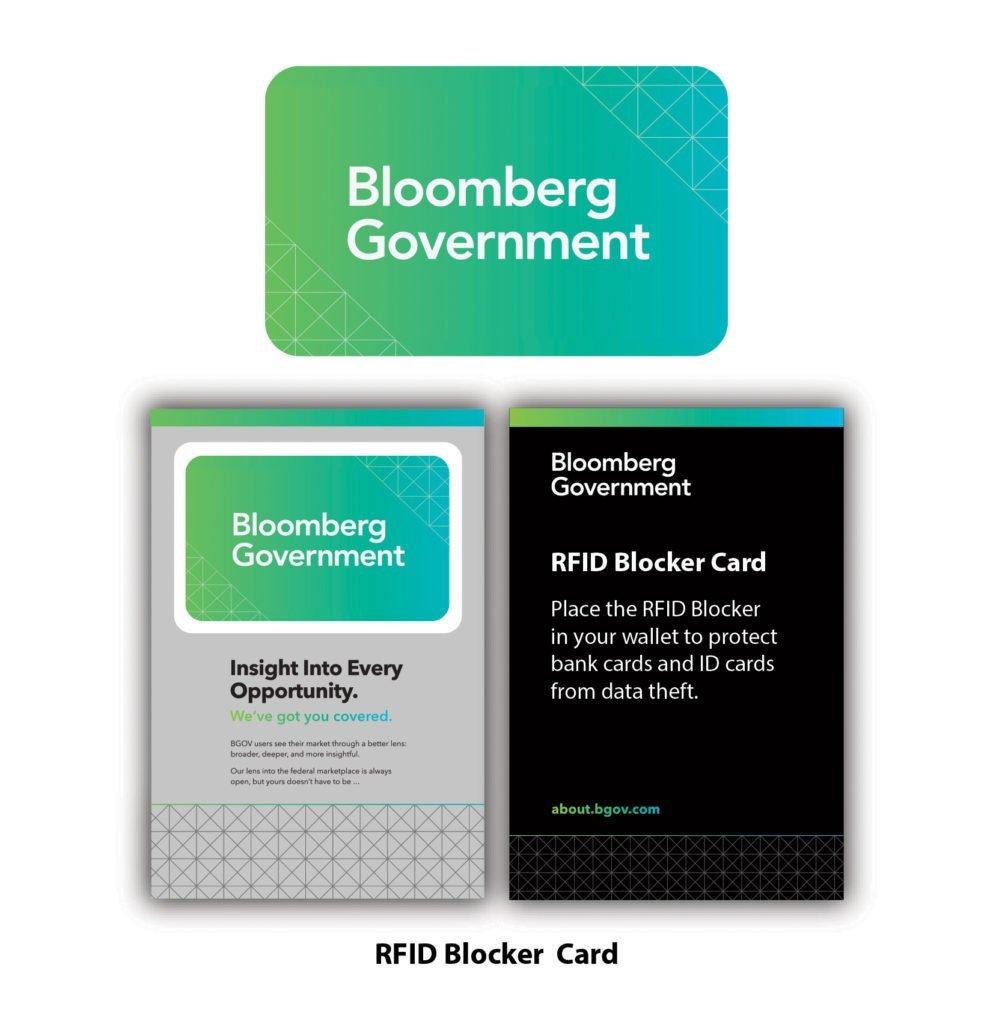 RFID data blocking card