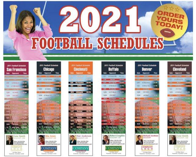 Order Football Schedules